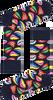 Schwarze HAPPY SOCKS Socken LIPS  - small