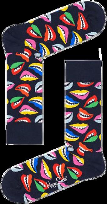 Schwarze HAPPY SOCKS Socken LIPS  - large