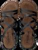 Schwarze LAZAMANI Sandalen 75.511  - small