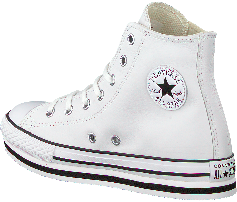 Weiße CONVERSE Sneaker ALL STAR PLATFORM EVA HI | Gratis