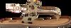Goldfarbene GIOSEPPO Sandalen 43781 - small