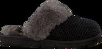 Schwarze UGG Hausschuhe COZY KNIT SLIPPER - medium