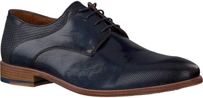 Blaue MAZZELTOV Business Schuhe 5053  - large