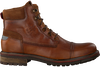 Cognacfarbene NZA NEW ZEALAND AUCKLAND Schnürboots HAWEA HIGH  - small
