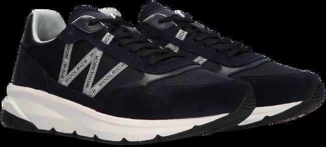 Blaue WOOLRICH Sneaker high TRAIL RUNNER MAN CAMOSCIO  - large