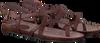 Braune FRED DE LA BRETONIERE Sandalen 170010026 - small