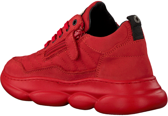 Rote RED-RAG Sneaker low 13333  - large