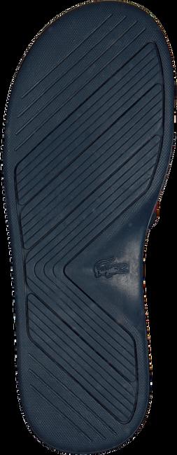 Blaue LACOSTE Pantolette L.30 SLIDE - large
