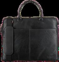 Schwarze MAZZELTOV Laptoptasche XANDER01  - medium