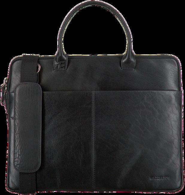 Schwarze MAZZELTOV Laptoptasche XANDER01  - large