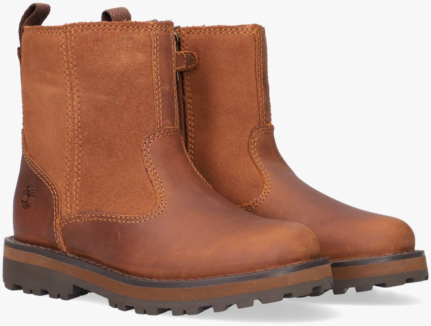 Cognacfarbene TIMBERLAND Ankle Boots COURMA KID WARM LINED  - larger