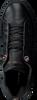 Schwarze TOMMY HILFIGER Sneaker TOMMY MONOGRAM DRESSY  - small