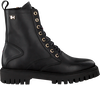 Schwarze TOMMY HILFIGER Schnürboots SHADED TH BOOTIE  - small