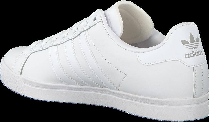 Weiße ADIDAS Sneaker COURTSTAR  - larger