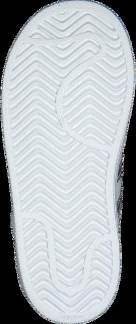 Weiße ADIDAS Sneaker SUPERSTAR EL I  - large