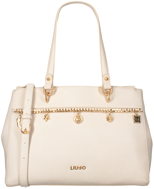 Beige LIU JO Shopper SOVRANA SHOPPING BAG  - large
