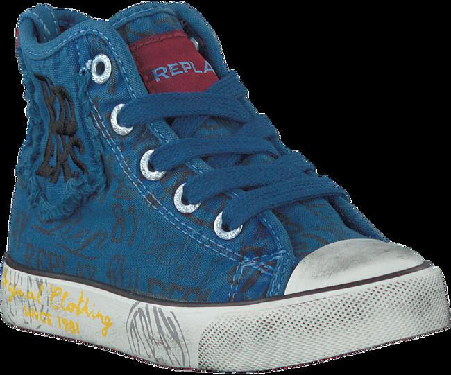 Blaue REPLAY Sneaker KING GEORGE - large