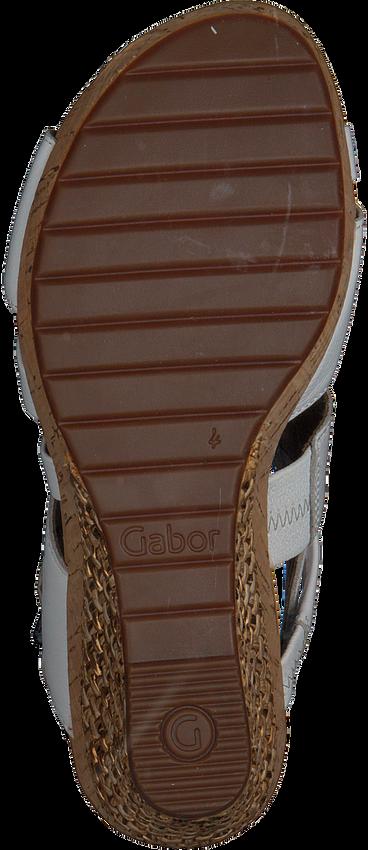 Weiße GABOR Sandalen 822 - larger