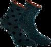 Grüne MARCMARCS Socken MAYA  - small