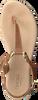 Cognacfarbene OMODA Sandalen 179866  - small