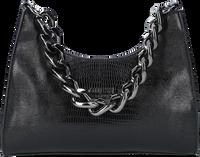 Schwarze GUESS Handtasche TULLIA HOBO  - medium