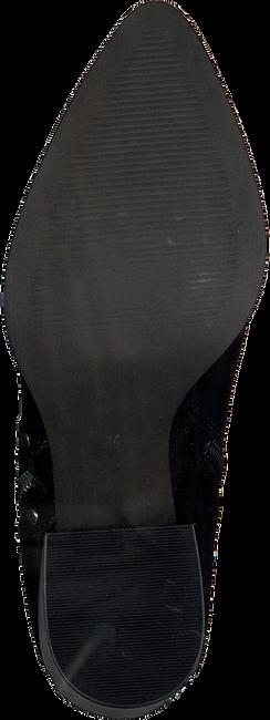 Schwarze OMODA Stiefeletten NETTY ANKLE BOOT STACKED - large