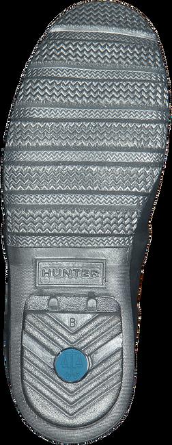 Silberne HUNTER Gummistiefel WOMENS ORIGINAL SHORT - large