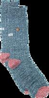 Blaue Alfredo Gonzales Socken TWISTED WOOL BLUE  - medium