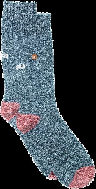 Blaue Alfredo Gonzales Socken TWISTED WOOL BLUE  - large