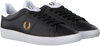 Schwarze FRED PERRY Sneaker low B8255  - small