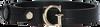 Schwarze GUESS Gürtel CORILY ADJUSTABLE PANT BELT  - small