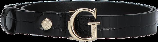 Schwarze GUESS Gürtel CORILY ADJUSTABLE PANT BELT  - large