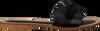 Schwarze NOTRE-V Pantolette 18701  - small