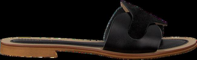 Schwarze NOTRE-V Pantolette 18701  - large