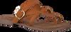 Braune LAZAMANI Pantolette 75.608  - small