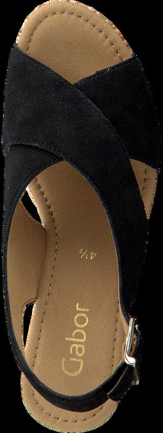Schwarze GABOR Sandalen 791.1 - larger