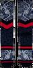 Graue XPOOOS Socken EAST WEST - small