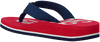 Rote TOMMY HILFIGER Pantolette BASEBALL PRINT FLIP FLOP  - small
