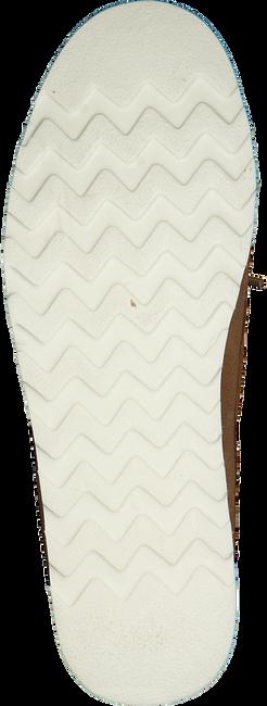 Cognacfarbene WOOLRICH Slipper BOAT SHOE  - large