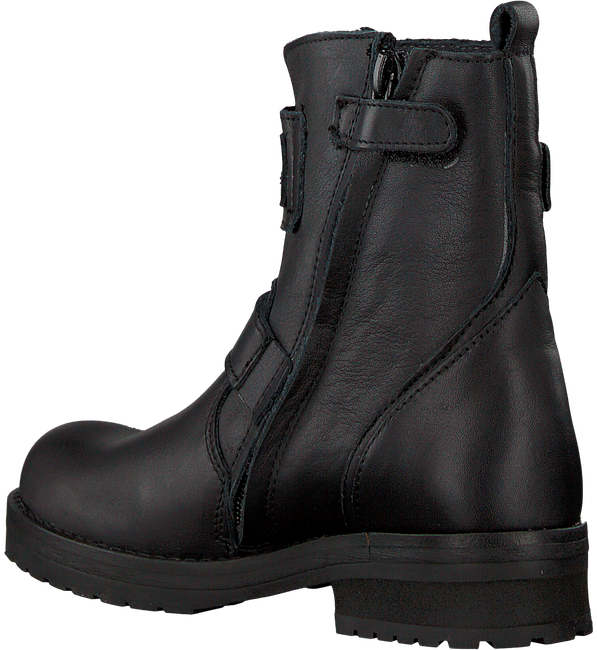 Schwarze HIP Biker Boots H1848 - large