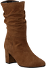 Cognacfarbene GABOR Hohe Stiefel 801.1  - small