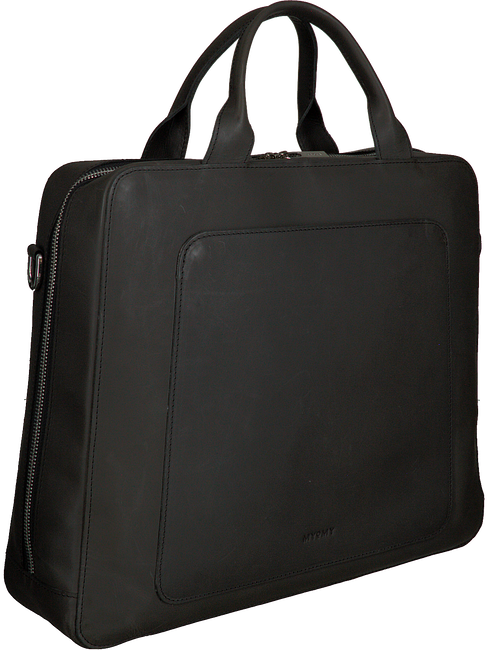 Schwarze MYOMY Laptoptasche MY LOCKER BAG BUSINESS  - large
