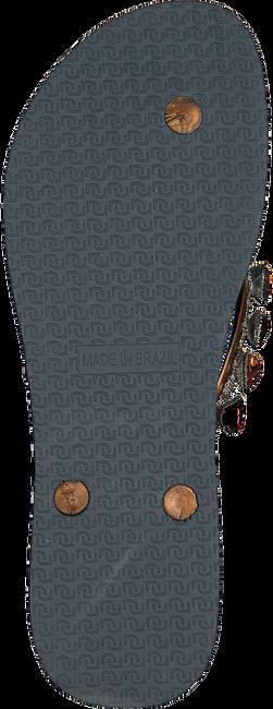 Silberne UZURII Pantolette HEART BRONZE - large