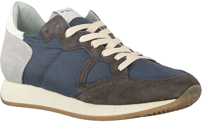 Graue PHILIPPE MODEL Sneaker MONACO VINTAGE  - large