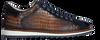Blaue GIORGIO Business Schuhe 64918  - small