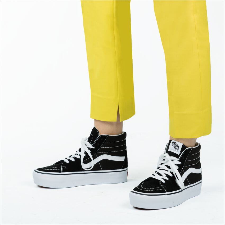 Schwarze VANS Sneaker SK8 HI PLATFORM SK8 HI PLATFOR - larger