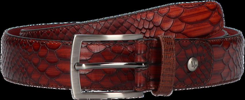 Cognacfarbene FLORIS VAN BOMMEL Gürtel 75188 - larger