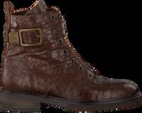 Braune NOTRE-V Biker Boots 01-325  - medium