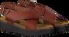 Cognacfarbene RED RAG Sandalen 78068  - small