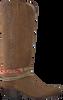 Cognacfarbene SENDRA Schuh-Candy ARNES - small